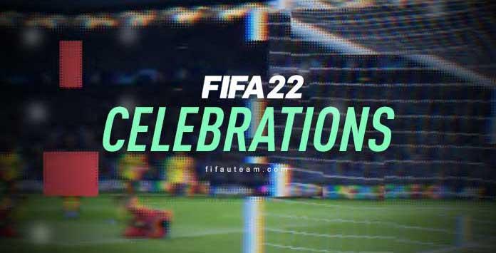 Comemorações de FIFA 22
