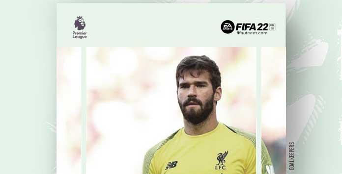 Guarda-Redes da Premier League para FIFA 22